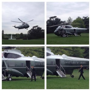 Marine One Collage