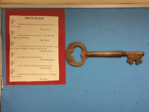 Day Before Kids Key Bulletin Board