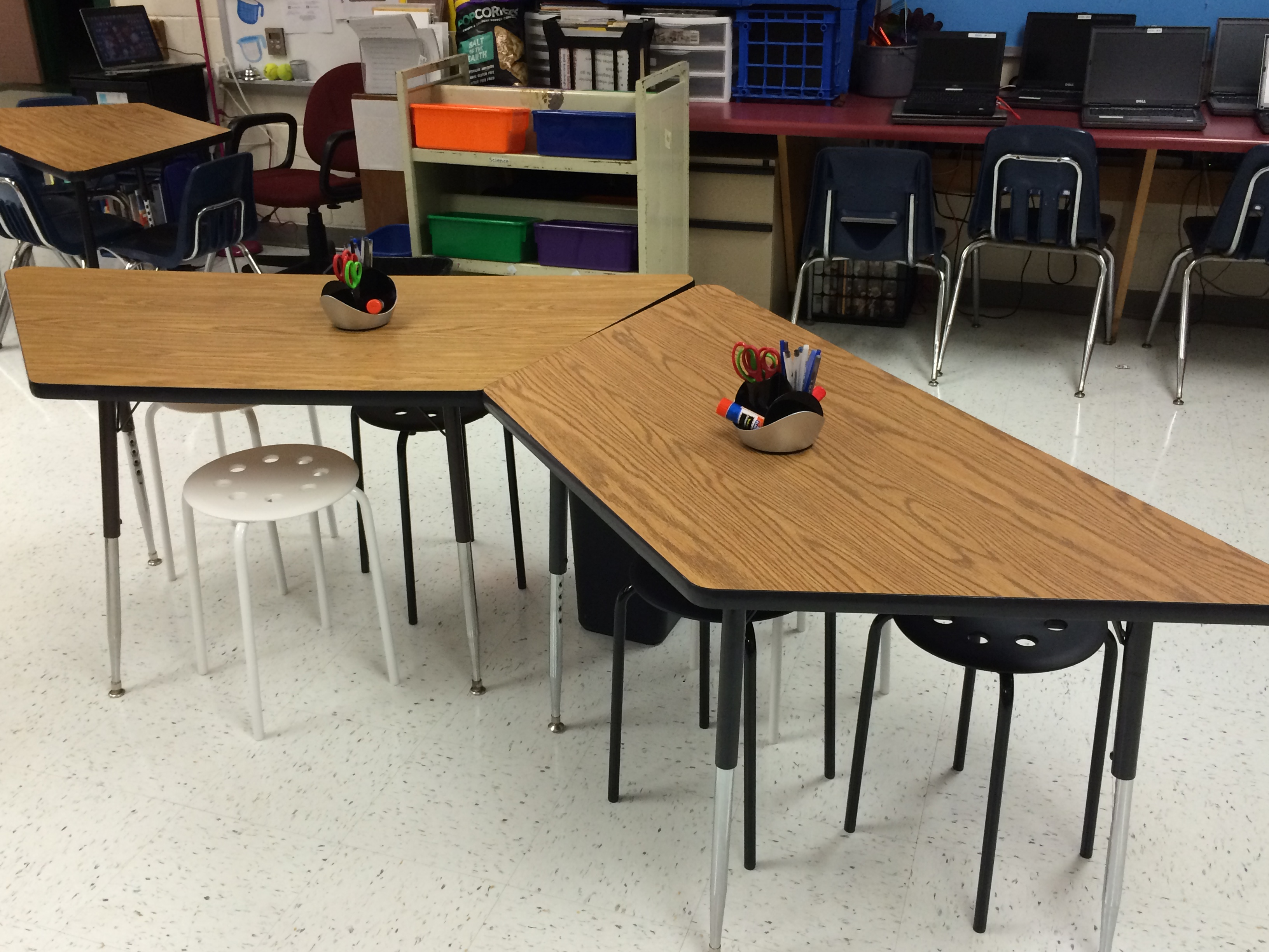 Elementary my dear or far from it september 2016 for Trapezoid table